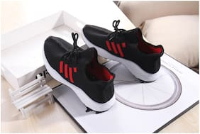 Enso Imported Men's Red Sneakers Shoes