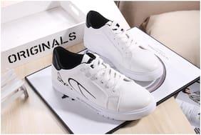 Enso Men White Sneakers
