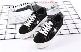 Enso Imported Men's Black Sneakers Shoes