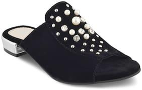SOLEHEAD Women Black Sandals