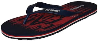 Solethreads Men Navy Red CALIFORNIA (G) Thongs Slippers