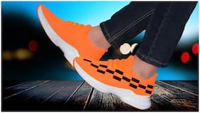 Casual Shoes For Men ( Orange )