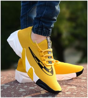 Casual Shoes For Men ( Yellow )