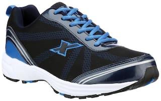 Sparx Men's Black & Blue Running Shoes (SM-260)