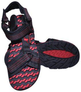Sparx Women Black Sandals