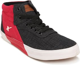 Sparx Men Black Sneakers - Sc0360gbkrd