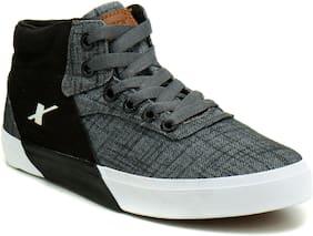 Sparx Men Grey Sneakers