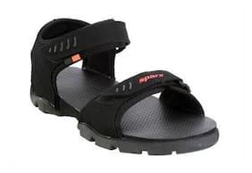 Sparx Men Black Sandals & Floaters