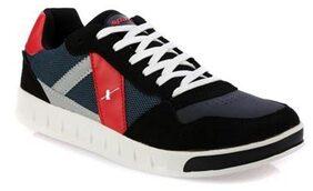 Sparx Men's Black & Red Running Shoes (SM-225)