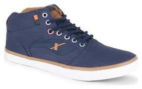 Sparx 282 Men Navy Blue Tan Sneaker Shoes (SM-282)