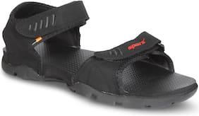 Sparx Men's Black Sandal (SS-101)