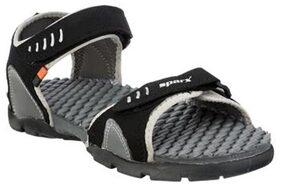Sparx Men's Black & Grey Sandal (SS-103)