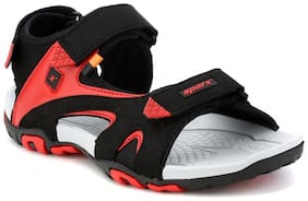 Sparx Men's Black & Red Sandal (SS-453)