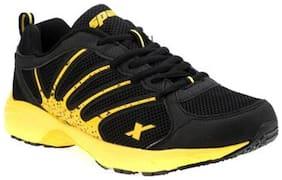 Sparx Men's Black & Yellow Running Shoes (SM-216)
