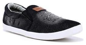 Sparx Men Black Sneakers -