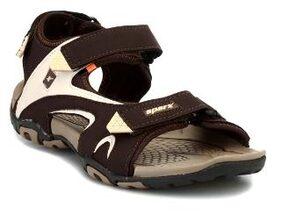 Sparx Men's Brown & Beige Sandal (SS-453)