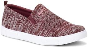 Men Maroon Casual Shoes