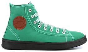 Men Green Classic Sneakers ,Pack Of 1 Pair