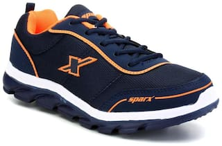 Sparx Men Navy Blue Running Shoes - Sm-277