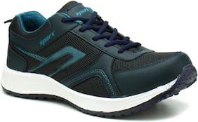Sparx Men's Blue & Green Running Shoes (SM-511)