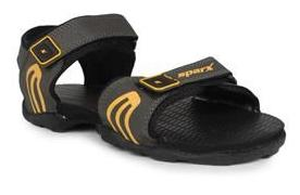 Sparx Men's Olive & Yellow Sandal (SS-702)