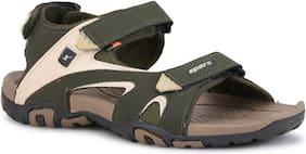 Sparx Men's Olive & Camel Sandal (SS-453)