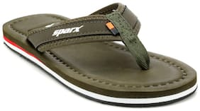 Sparx Men Green Flipflop