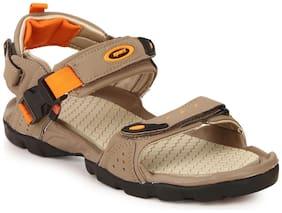 Sparx Men's Camel & Orange Sandal (SS-502)