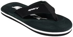 Sparx Men Black Flipflop
