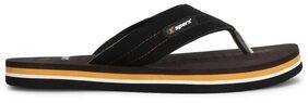 Sparx Men Black Slippers & Flip Flops