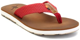 Sparx Men Brown Flipflop