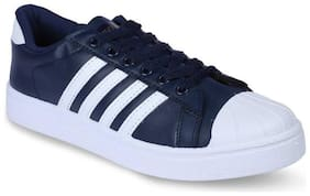 Casual Shoes For Men ( Navy Blue )