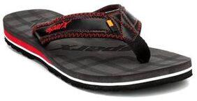 Sparx Men's Black & Grey Slipper (SFG-539)