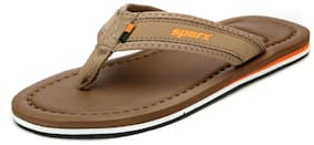 Sparx Men's Camel & Orange Slipper (SFG-48)