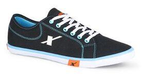 Sparx Men Black Sneakers - Sc 0283 Gbksb