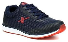 Sparx Men's Navy Blue & Red Running Shoes (SM-348)