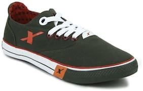 Sparx Men Green Sneakers -