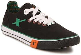 Sparx Men Black Sneakers -
