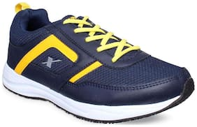 Sparx Men's Blue & Yellow Running Shoes (SM-275)