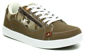 Men Beige Casual Shoes