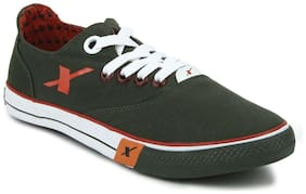 Sparx Men Green Sneakers -