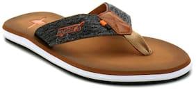 Sparx Men's Brown Slipper (SFG-2076)
