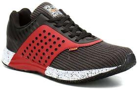 Sparx Men's Black & Red Running Shoes (SM-318)