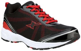 Sparx Men's Black & Red Running Shoes (SM-260)