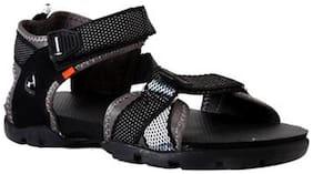 Sparx Men's Black & Grey Sandal (SS-105)