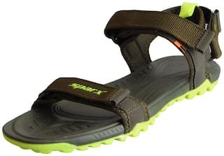 2c56829d4 Buy Sparx Men Green Sandals   Floaters Online at Low Prices in India ...
