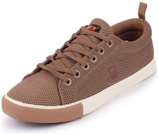 Sparx SM-461 CAMEL TAN Men Brown Sneakers - SM-461 CAMEL TAN - SM-461 CAME