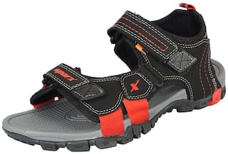 6c020ebec80323 Buy Sparx Men s Black Red Outdoor Sandals and Floaters Online at Low ...