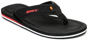 Sparx Men Black Flipflop