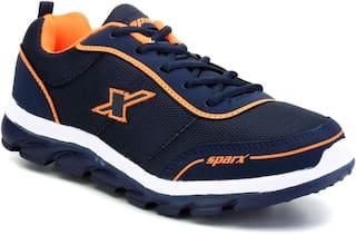 Sparx Men Running Shoes ( Navy Blue )